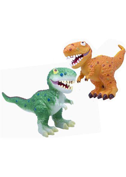 Dinosaurio blando 60cm. 2 colores (precio unidad)