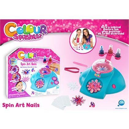 Color splasherz spin nails