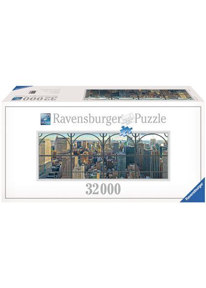 Puzzle 32000 ventana de la ciudad de new york