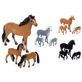 Conjunto 3 caballos surtidos