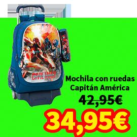 MOCHILA CAPITAN AMERICA
