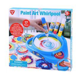 Paint art whirlpool