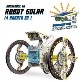 Construye tu robot solar 14 en 1