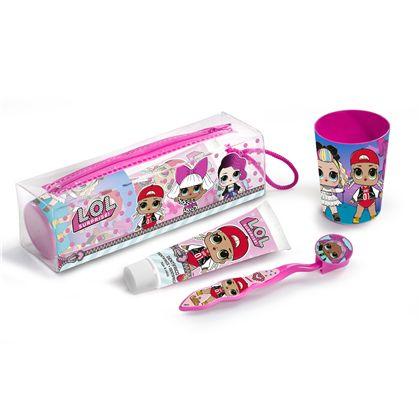 Neceser dentifrico 75 ml.cepillo +vaso - 55801403
