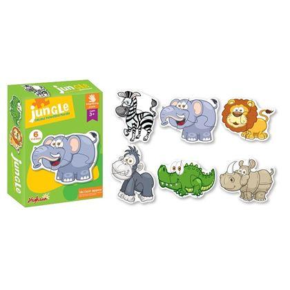 Puzzle animal infantil - 97288062
