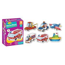 Puzzle vehiculo infantil