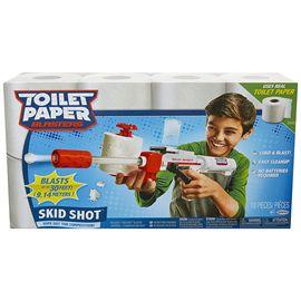 Pistola blaster toilet paper