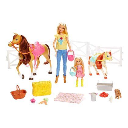 Barbie y chelsea con caballos - 24569136
