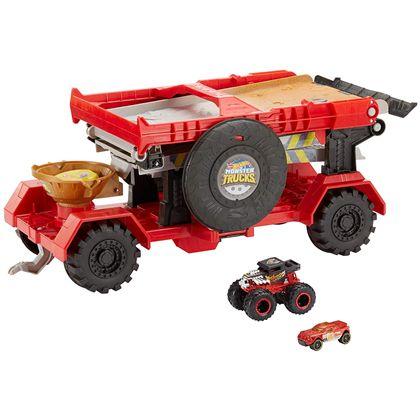 Monster trucks carreras con cuesta abajo - 24576806(1)