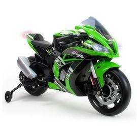 Moto racing kawasaki 12v