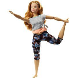 Barbie movimientos sin límites castaña