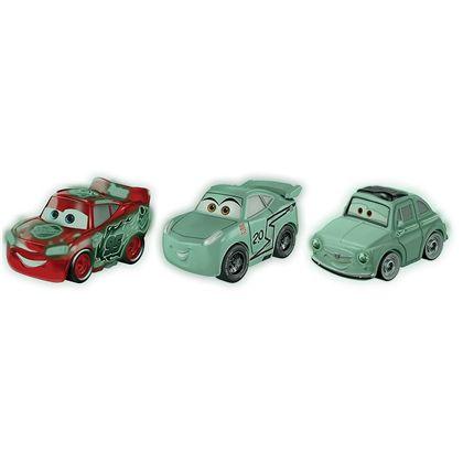 Pack 3 cars mini racers mcqueen luigi cruz storm - 24561629(1)