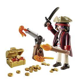 Pirata con cañón