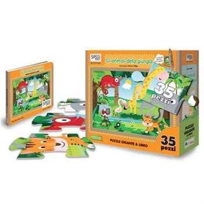Puzzle los animales de la selva - 59060207