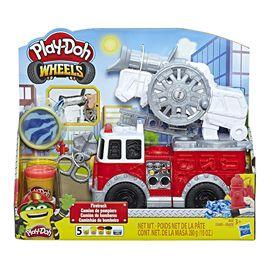 Play-doh camion bomberos