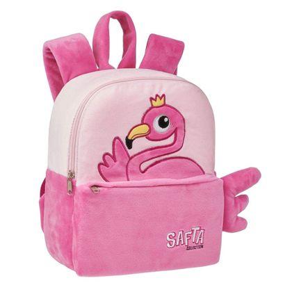 Mochila peluche guarderia safta flamingo - 79134790
