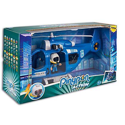 Pinypon action- helicóptero policía - 13006379