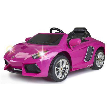 Lamborghini aventator pink 6v - 13001543