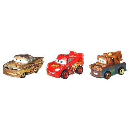 Pack 3 cars mini racers gold ramone - 24571974(1)