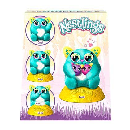 Nestlings azul mascota interactiva - 14732241(2)