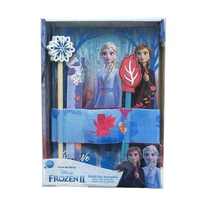 Diario frozen 2 con accesorios - 30541908(2)