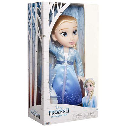 Frozen 2 elsa vestido de viaje 35 cm - 07407054(1)