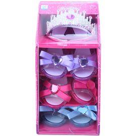 Zapatos y corona de princesa