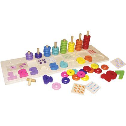 Juego de aprendizaje numeros 86 piezas - 95606467