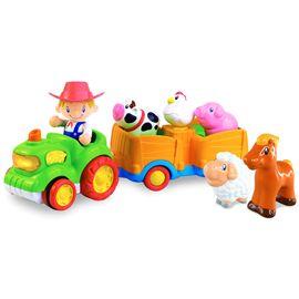 Tractor musical con figura