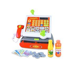 Registradora con luz, sonido,calculadora etc