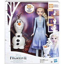 Frozen 2 elsa y olaf