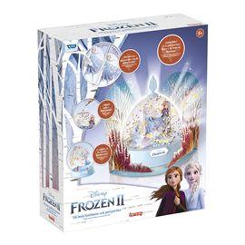 Frozen ii light-up glitter globe