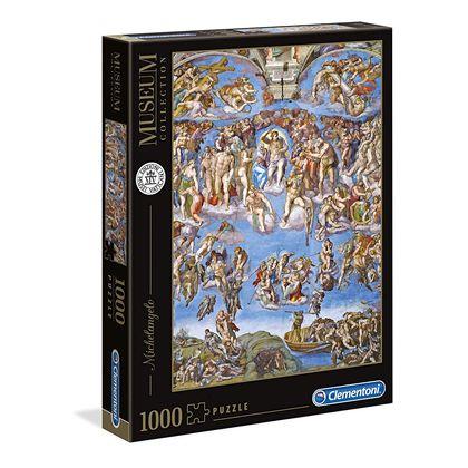 Puzzle 1000 michelangelo: juicio universal - 06639497