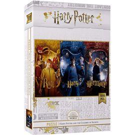 Puzzle 1000 ron harry y hermione harry potter