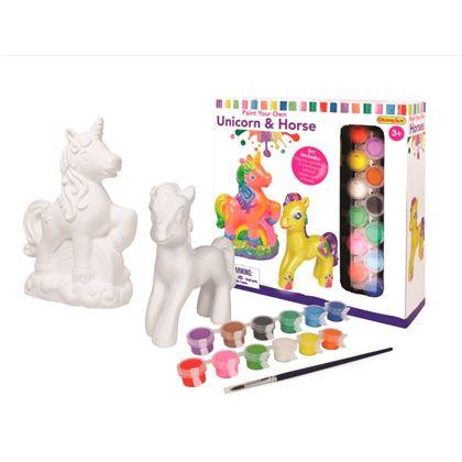 Pinta tu unicornio y caballo - 86400413
