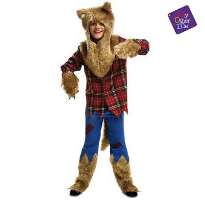 Hombre lobo 7-9 años niño ref.200118 - 55220118