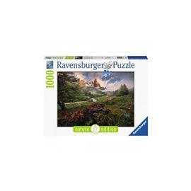 Puzzle 1000 atmosfera pintoresca en la vallée de l