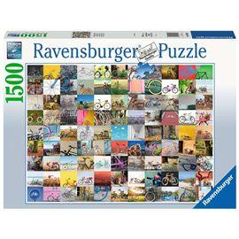 Puzzle 1500 piezas 99 bicicletas