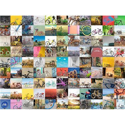 Puzzle 1500 piezas 99 bicicletas - 26916007(1)