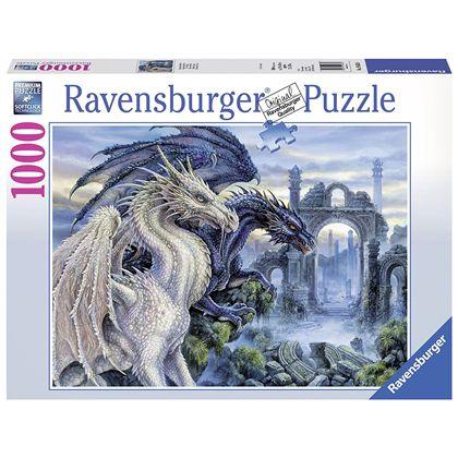 Puzzle 1000 dragones místicos - 26919638