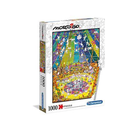 Puzzle 1000 piezas mordillo the show - 06639536