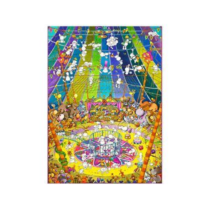 Puzzle 1000 piezas mordillo the show - 06639536(1)