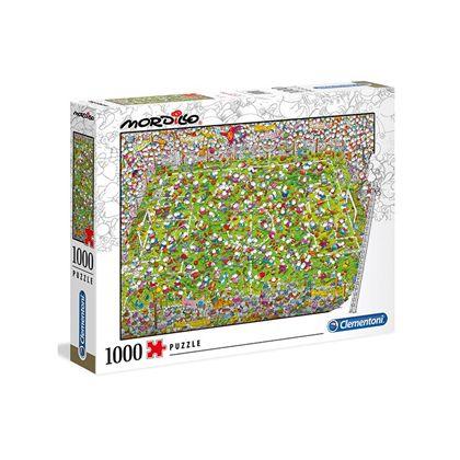 Puzzle 1000 piezas mordillo the match - 06639537