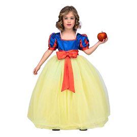 Disfraz princesa tutu amarillo