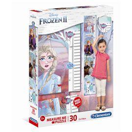 Puzzle 30 piezas y metro frozen 2