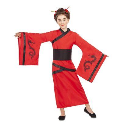 Disfraz china dragon 5-6 años - 55225844