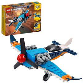 Avión de hélice lego creator