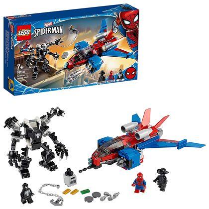 Jet arácnido vs. armadura robótica de venom - 22576150