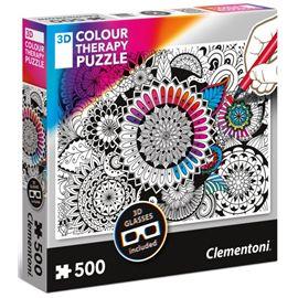Puzzle 500 mandala therapy