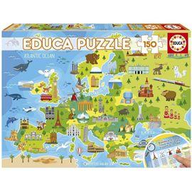 Puzzle 150 mapa europa